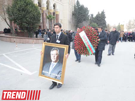 Azerbaijani National Academy of Sciences president buried at first Alley of Honour (UPDATE)(PHOTO)