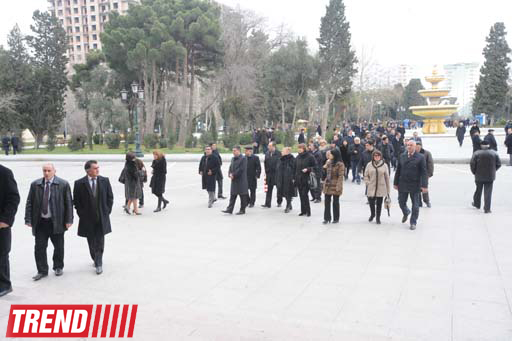 Azerbaijani National Academy of Sciences president buried at first Alley of Honour (UPDATE)(PHOTO) - Gallery Image