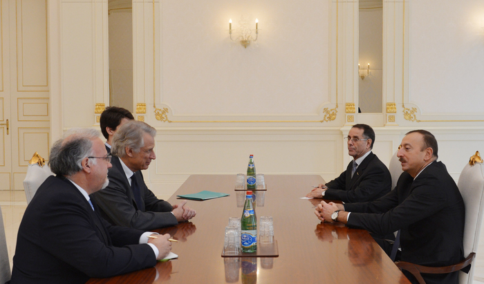 Azerbaijani President receives France's former PM - Gallery Image