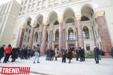 Azerbaijani National Academy of Sciences president buried at first Alley of Honour (UPDATE)(PHOTO) - Gallery Thumbnail