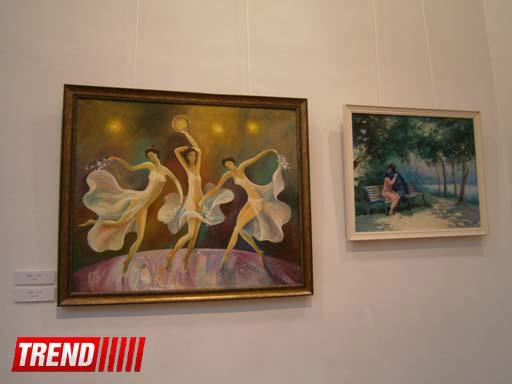 """""""Диалог красок"""" азербайджанских художников представят в Баку (фотосессия) - Gallery Image"""
