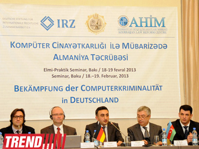 Azerbaijani legislation to be adapted according to European Convention on Cybercrime's requirements (PHOTO) - Gallery Image