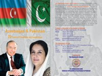 Book published in Pakistan reflects Azerbaijani First Lady's and Heydar Aliyev Foundation's activities - Gallery Thumbnail