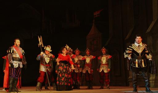 "Азербайджанский театр оперы и балета оперой ""Трубадур"" отметил юбилей Джузеппе Верди (фото) - Gallery Image"