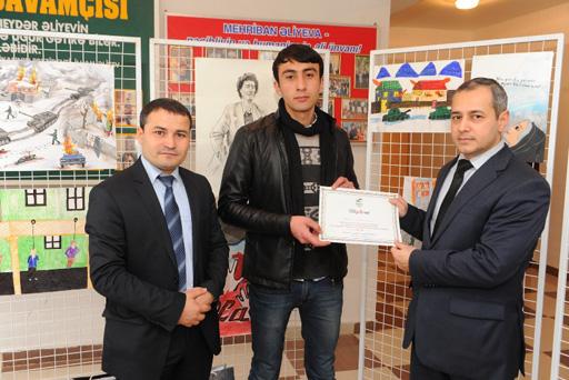 """Общественное объединение """"Miras"""" организовало выставку, посвященную Ходжалинской трагедии (фото) - Gallery Image"""