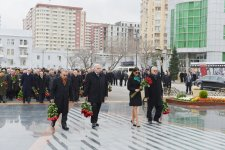 Azerbaijani President, First Lady attend ceremony commemorating Khojaly genocide victims  (UPDATE) (PHOTO) - Gallery Thumbnail