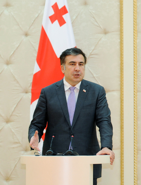 Mikheil Saakashvili to not participate in his party's action