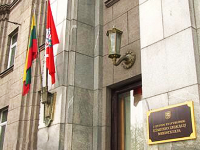 Azerbaijan sends protest note to Lithuanian Foreign Ministry