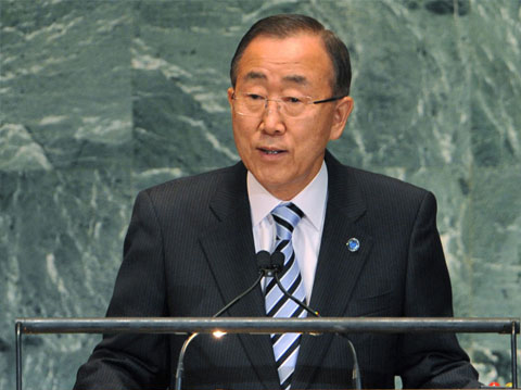 UN chief requests probe on alleged Syria chemical weapon use