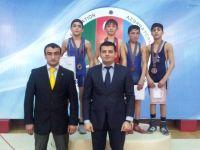 """""""Olimpiyaçılar aramızda"""" Respublika turniri yunan-Roma güləşi yarışları ilə tamamlandı (FOTO) - Gallery Thumbnail"""