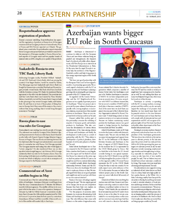 Top official: Azerbaijan determined to continue its relations with EU - Gallery Image