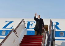 Azerbaijan`s President heads to Croatia for official visit - Gallery Thumbnail