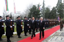 Azerbaijani President officially welcomed to Croatia (PHOTO) - Gallery Thumbnail