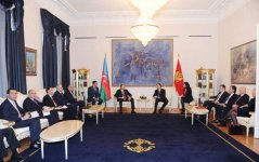 Azerbaijani, Montenegrin presidents have expanded meeting - Gallery Thumbnail
