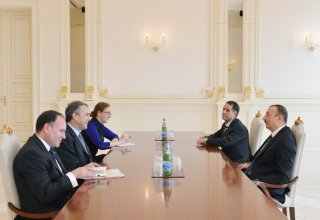 Azerbaijan`s President receives British permanent under-secretary of Foreign and Commonwealth Office