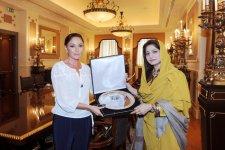 Azərbaycanın birinci xanımı Mehriban Əliyevaya Pakistanın ali mükafatı təqdim olunub (FOTO) - Gallery Thumbnail