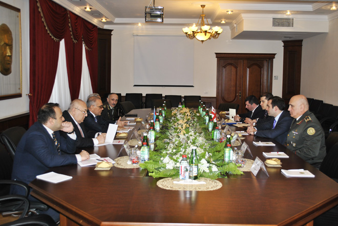 Azerbaijan and Georgia discuss prospects for military-technical cooperation