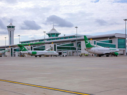 Turkmenbashi Airport income increases due to transit fuelling
