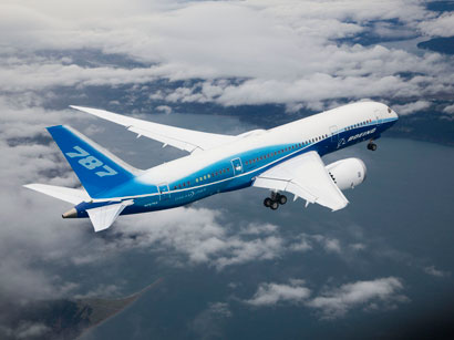 Azerbaijan to receive Boeing-787 Dreamliner aircrafts in 2014