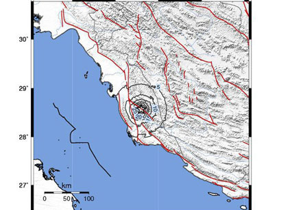Foreigners die during recent Iran quake