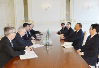 President Ilham Aliyev receives Slovakian delegation led by Deputy Prime Minister and Minister of Foreign and European Affairs