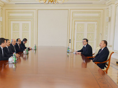 Azerbaijan`s President receives Turkish minister of forestry and water