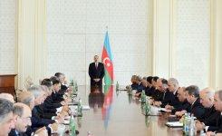 Под председательством Президента Азербайджана прошло заседание Кабинета Министров по итогам I квартала 2013 года (ФОТО) - Gallery Thumbnail
