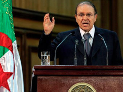 Algeria's Bouteflika names first cabinet of 4th term