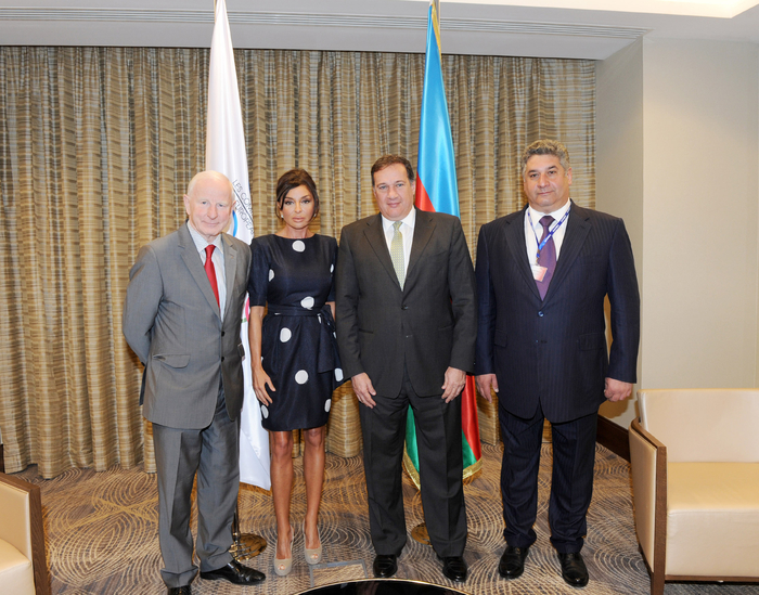 Azerbaijani First Lady attends first meeting of European Games Coordinating Committee (PHOTO) - Gallery Image