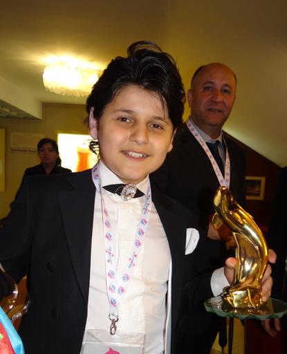 Победа Ясина Гасанова на международном фестивале в Сан-Ремо (фото) - Gallery Image