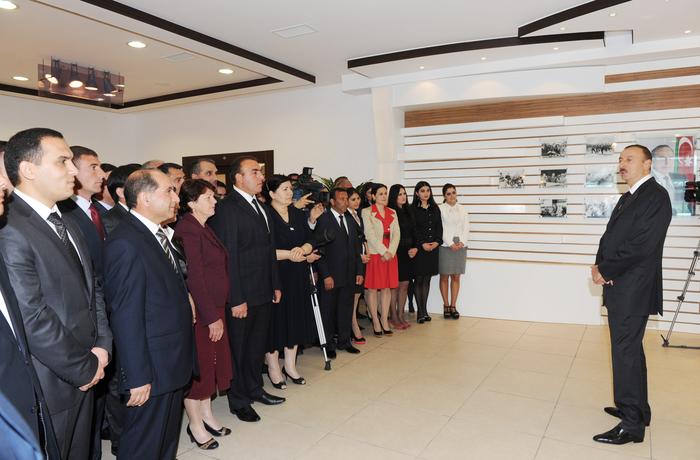 Qobustan İdman Kompleksinin açılışı olub (FOTO) - Gallery Image