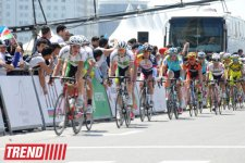 Azerbaijani team member wins 1st stage of international cycling race (PHOTO) - Gallery Thumbnail