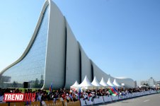 Ümummilli lider Heydər Əliyevin 90 illik yubileyinə həsr olunmuş beynəlxalq velosiped turuna start verilib (FOTO) - Gallery Thumbnail
