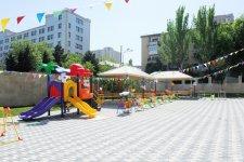 Mehriban xanım Əliyeva bir sıra sosial obyektlərin açılışında iştirak edib (FOTO) - Gallery Thumbnail