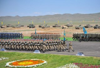 Kazakh defense minister checks combat readiness of troops