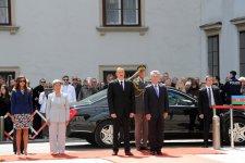 Vyanada Azərbaycan Prezidenti İlham Əliyevin rəsmi qarşılanma mərasimi olub (FOTO) - Gallery Thumbnail