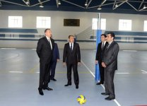 President Ilham Aliyev inspected Shamakhi Olympic Sports Complex after reconstruction (PHOTO) - Gallery Thumbnail