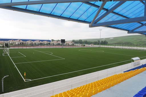 President Ilham Aliyev inspected Shamakhi Olympic Sports Complex after reconstruction (PHOTO) - Gallery Image