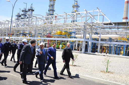 SOCAR commissions new installations at its chemical enterprise in Azerbaijan (PHOTO)