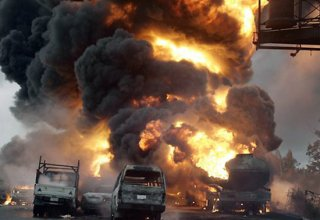 16 injured after tanker explosion in Nigeria's economic hub