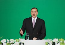 Azerbaijan`s President attends official reception in connection with Republic Day (PHOTO) - Gallery Thumbnail