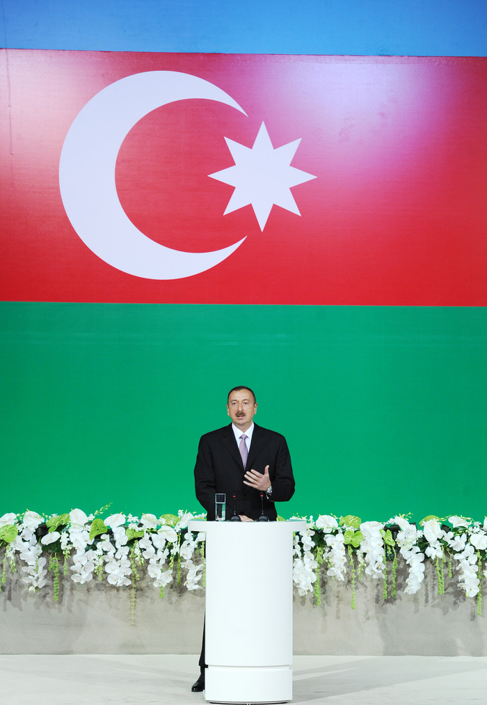 Azerbaijan`s President attends official reception in connection with Republic Day (PHOTO) - Gallery Image