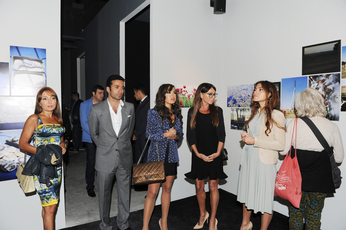 Azerbaijani First Lady participates in inauguration of modern art exhibition of Azerbaijan and neighbouring countries in Venice (PHOTO)
