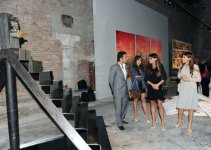 Azerbaijani First Lady participates in inauguration of modern art exhibition of Azerbaijan and neighbouring countries in Venice (PHOTO) - Gallery Thumbnail