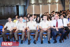 Azerbaijani student union supports candidacy of Ilham Aliyev in upcoming presidential elections (PHOTO) - Gallery Thumbnail