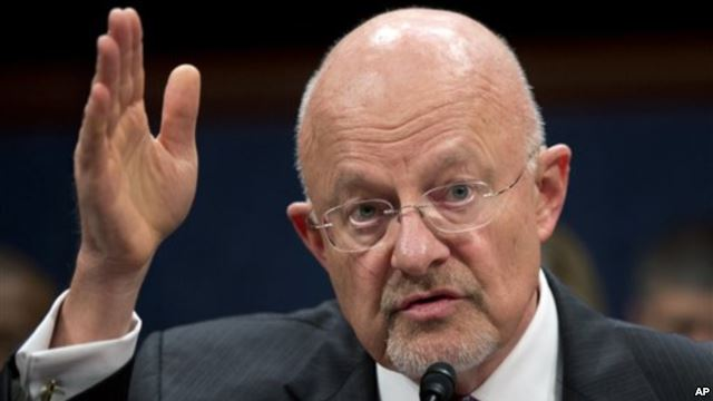US intelligence chief blasts reports on internet spying