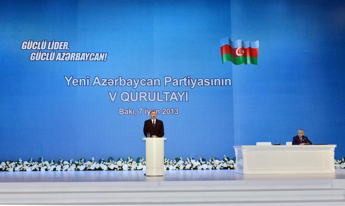 Президент Ильхам Алиев: Наша цель - могущественный Азербайджан, независимость, развитие, социальное благосостояние (ФОТО) - Gallery Image