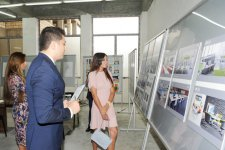 Azerbaijan`s First Lady Mehriban Aliyeva inspects reconstruction work at secondary school No 23 in Baku (PHOTO) - Gallery Thumbnail