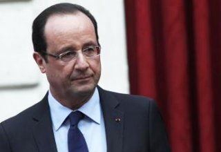 France's Hollande says to visit Iraq Monday