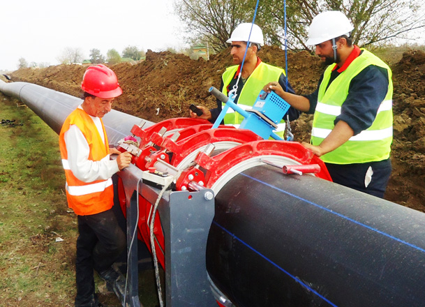 Water supply and sewerage systems' reconstruction to be completed in another city of Azerbaijan by year's end (PHOTO) - Gallery Image